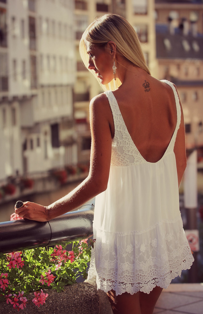 style lover abercrombie white dress II