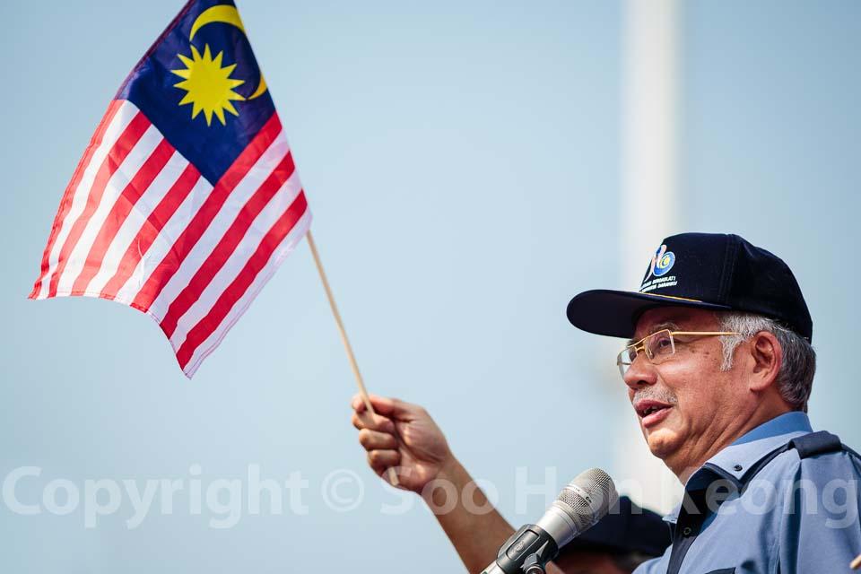 Malaysia Prime Minister Datuk Seri Najib Tun Razak on 56th Merdeka day @ Kuala Lumpur, Malaysia