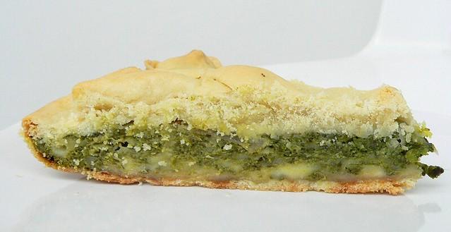 Pizza Rustica Bimby con Spinaci e Emmentaler
