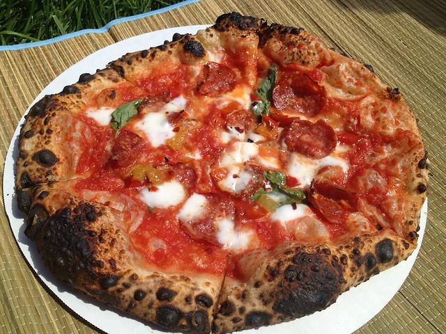 Salami pizza - Del Popolo