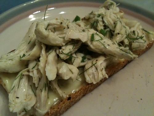 Crab Toast with Lemon Aioli-- Jane