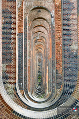 Under the Ouse Valley Viaduct
