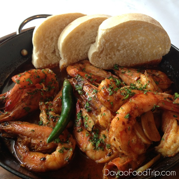 Gambas A La Jillo at Tiny Kitchen Davao