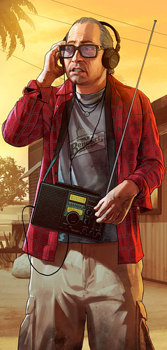GTA Art Nervous Ron