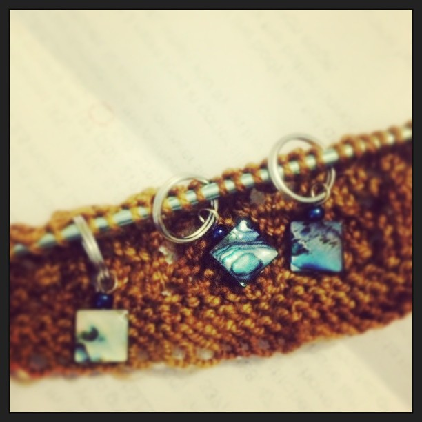 #vscocam stitch markers make it all better