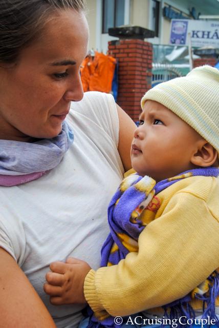 Visit Vietnam Baby Holding