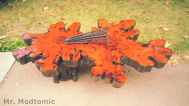 Mr Modtomic Absolute Epic Is There Any More Apt Description For - Cypress stump coffee table