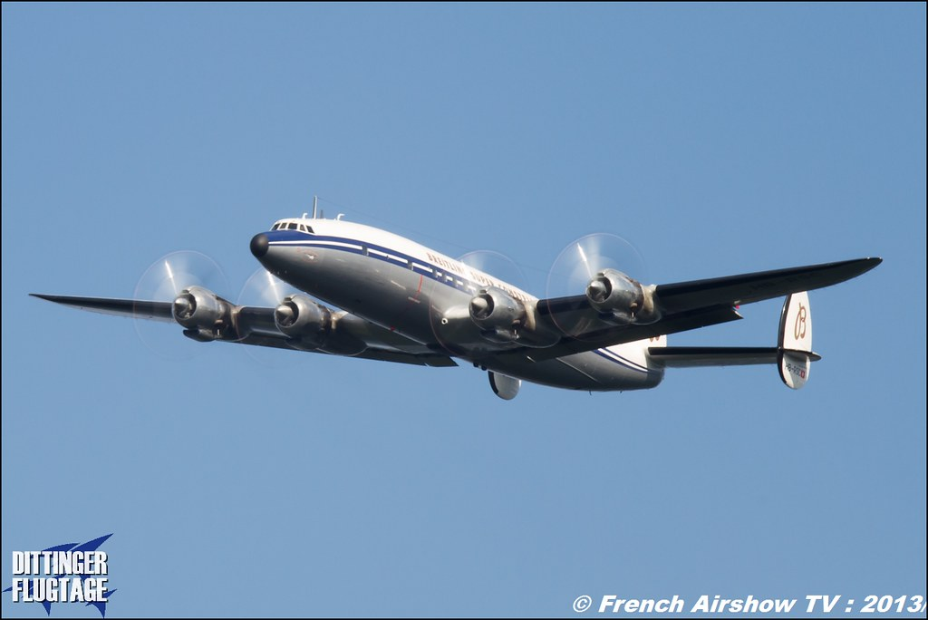Super Constellation Breitling Dittinger Flugtage 2013