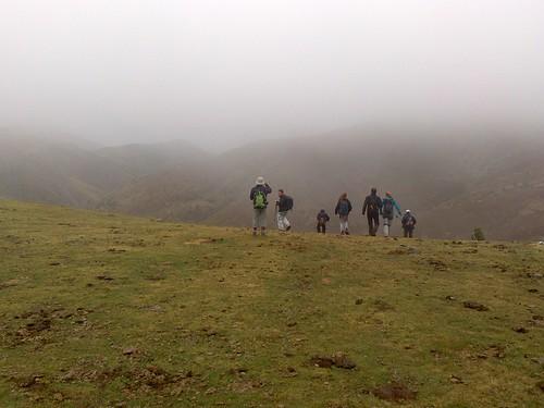 Bruma, niebla y lluvia