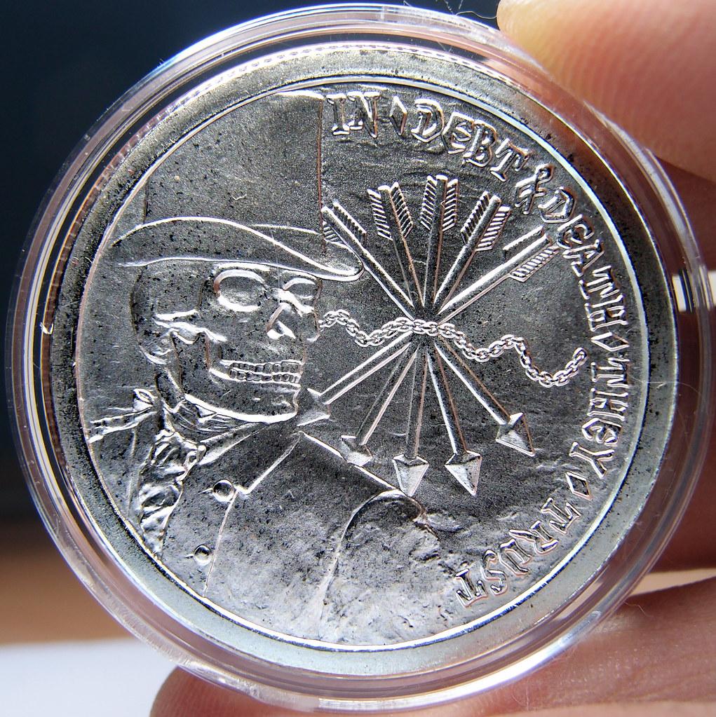"""Colección de onzas de plata """" Silver Bullets & Silver Shield"""" 10174207066_79897a0156_b"""