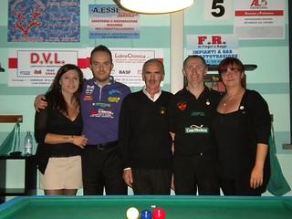 Massimo Sala Campione Provinciale singolo 1^ Categoria 2012-13, Roberto Pinotti 2° classificato