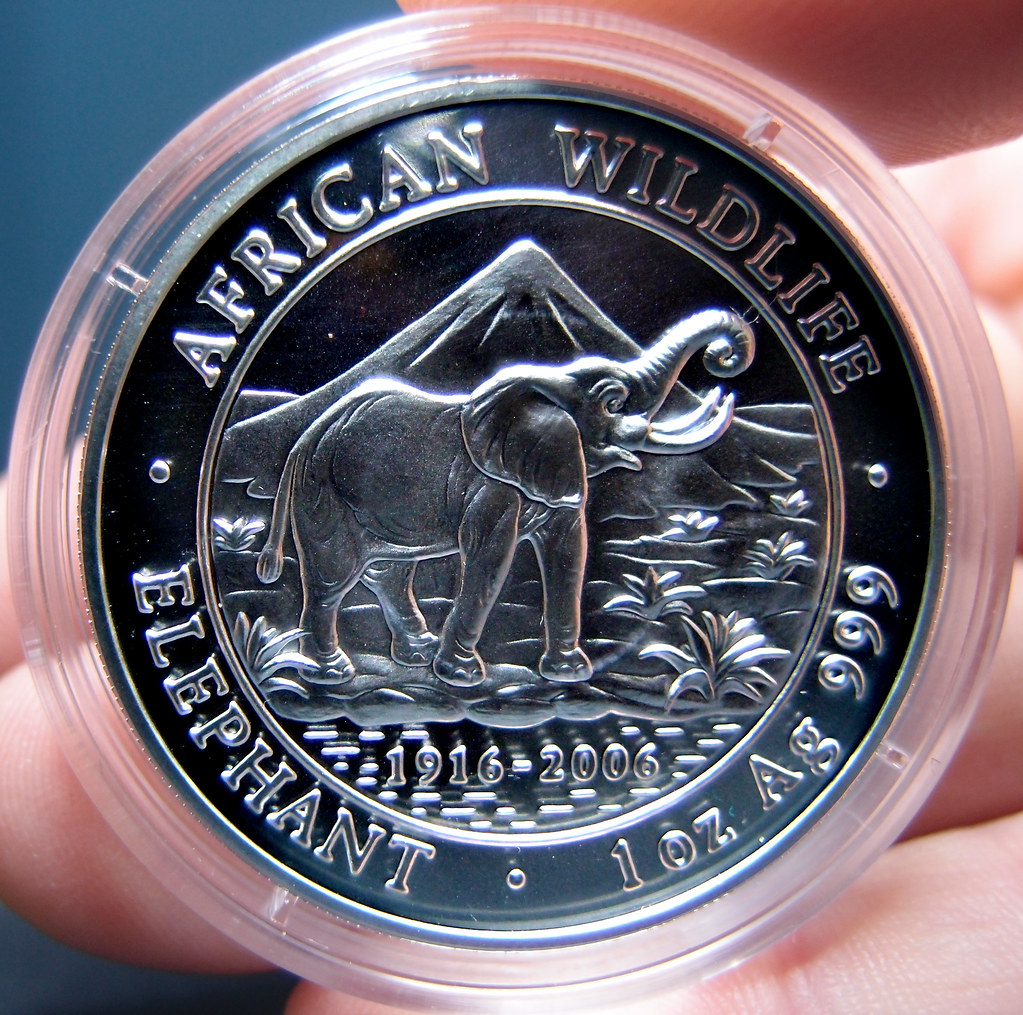 """Colección de onzas de plata """"Somalian African Wildlife""""  10276159323_d12ebf4a2a_b"""