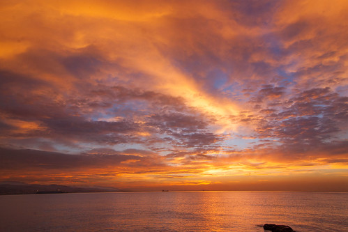 sea beach clouds sunrise mar playa amanecer nubes mediterráneo málaga 3173 playadelamisericordia quinoal amanecerenmálaga