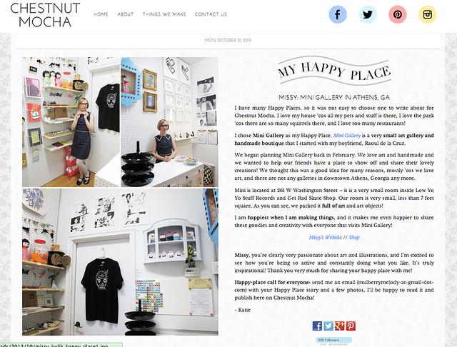 Chestnut Mocha Happy Place Mini