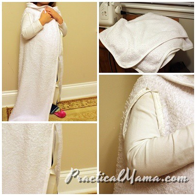 Easy wearable armless blanket