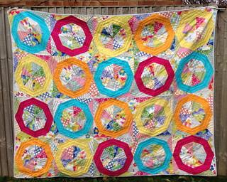 Spinning Stars of Quilt Blocks