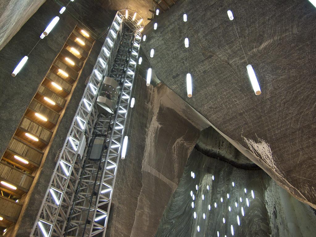 Salina Turda - Salt Mine Turned Into A Museum