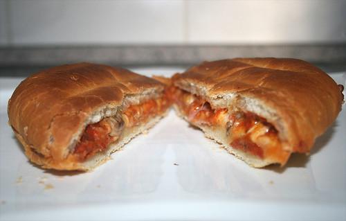 10 - Dr. Oetker Pizzaburger Speciale - Querschnitt