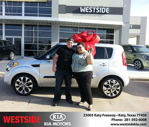 Happy Birthday to Vanessa Solis from Wilfredo Suliveras and everyone at Westside Kia! #BDay by Westside KIA