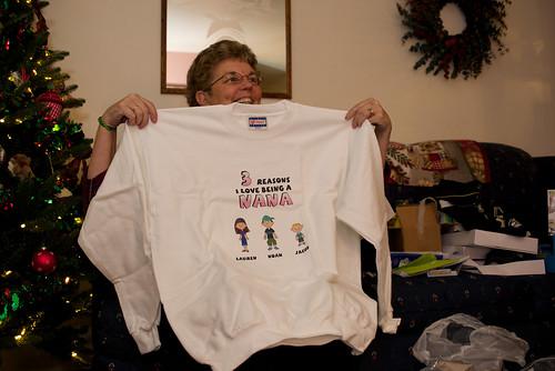 Grandma sweatshirt.