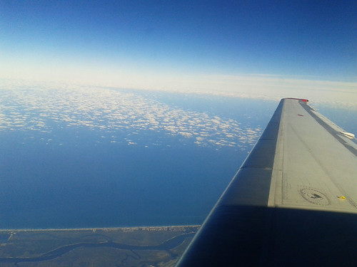 Atlantic Ocean from the Plane (Dec 16 2013)