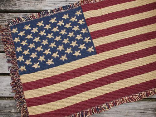 U.S.A. Flag Rug
