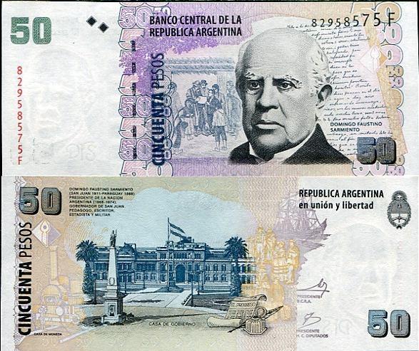 50 Pesos Argentína 2012, Pick 356