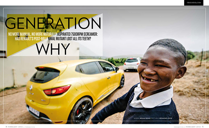 Desmond Louw car automotive photography feature in TopGear magazine South Africa dna photographers 02