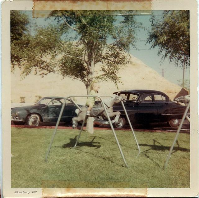 Barstow motel 1969