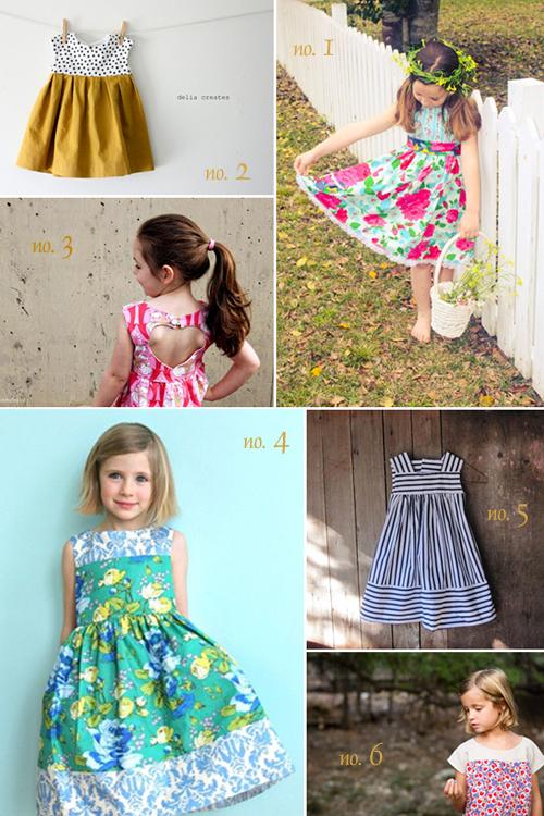 inspiration for Girls Dresses