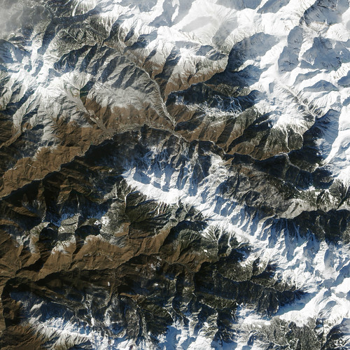 This image, acquired by the Advanced Land Imager (ALI) on NASA's Earth Observing-1 (EO-1) satellite on February 8, 2014, offers a view of the town and the ski facilities. Image courtesy NASA Earth Observatory.
