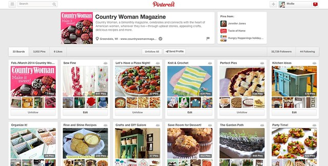 Country Woman Pinterest