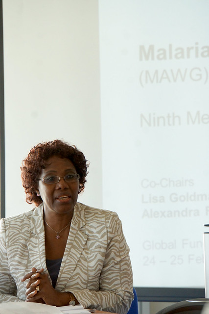 Fatoumata Nafo-Traoré at 9th MAWG meeting