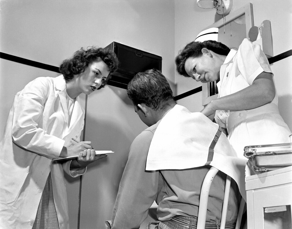 Emergency Admittage Office Hospital Oak Ridge 1947 | Flickr