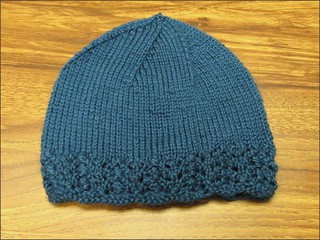 Lacy Blue Hat