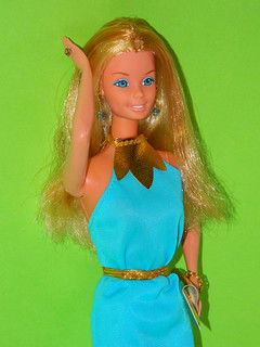 Barbie Fashion Photo (1978) made in Taiwan in Barbie Best Buy #2550 (1978) - close up 3