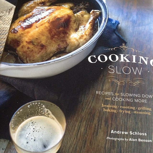 So excited to cook out of this cookbook! Cooking Slow....it's filled with stunning photos. So beautiful!