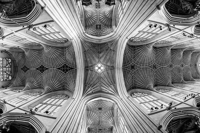 Bath Abbey (ceiling)