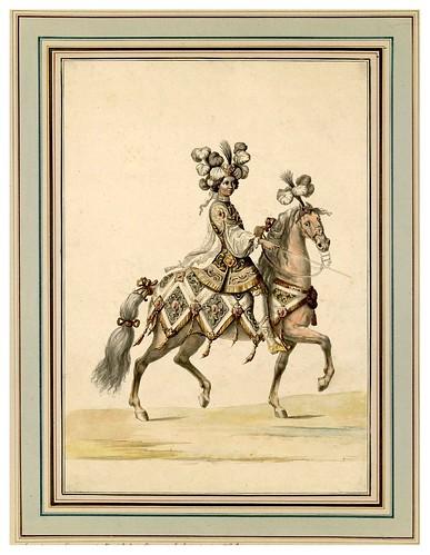009-Carrousel des galans Maures de Grenade…1685- Jean Berain- INHA