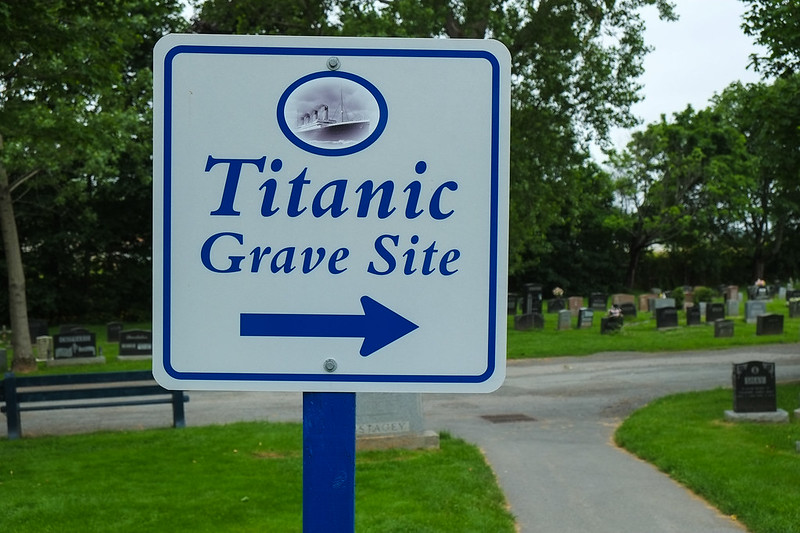 Titantic Grave Site, Fairview Lawn Cemetary