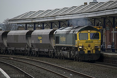66509 passing through Kilmarnock working 4S11 to Killoch 01/04/14...
