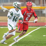 2014-04-03 -- Men's lacrosse vs Olivet College