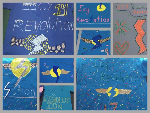 Icy Revolution Collage