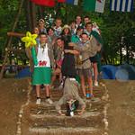 Explorers at the Serbian Jamboree