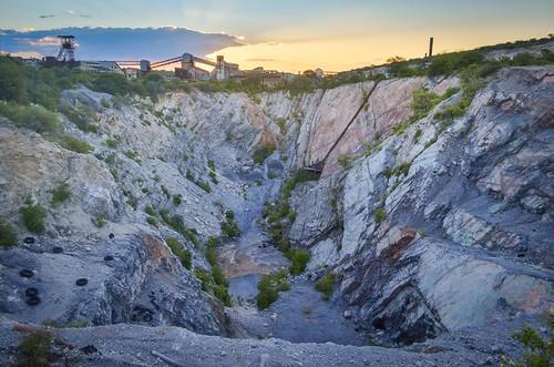 Tsumeb mine open pit