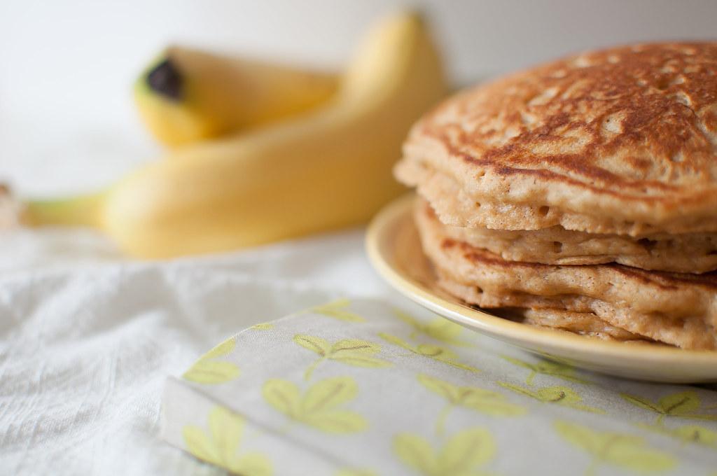 Whole Wheat Banana Pancakes 3