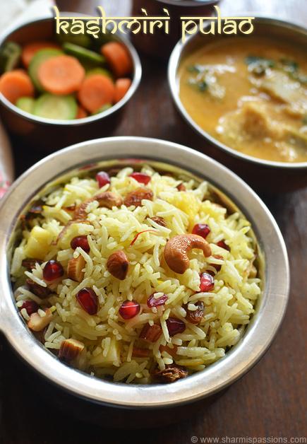 Restaurant Style Kashmiri Pulao