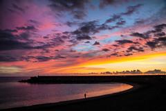 Sunset in Tazacorte
