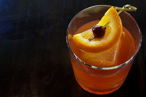Muddled Old Fashioned at The Square