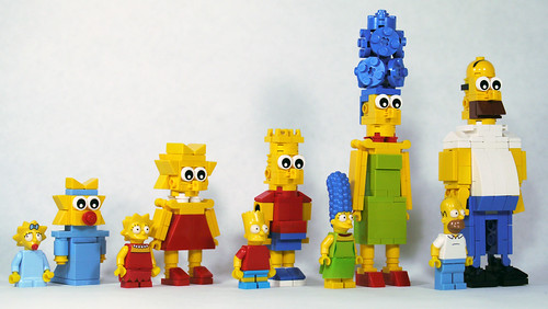 LEGO Simpsons - Comparison